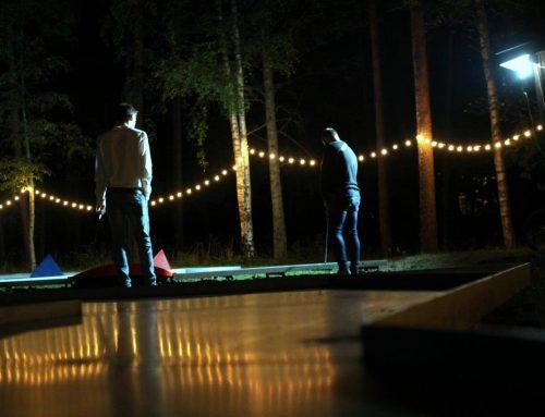 """Minigolfa vakars """"Mežaparkā"""""""